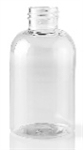 Bottle - Plastic - Boston Round - Clear - 20/410 - 3 oz (Set of 100)