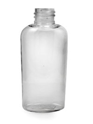Bottle - Plastic - Boston Round - Clear - 20/410 - 3 oz (Set of 640)