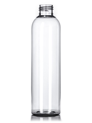 Bottle - Plastic - Cosmo Round - Clear - 24/410