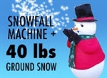 Snowfall Machine plus 40 lbs Instant Snow