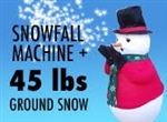 Snowfall Machine plus 45 lbs Instant Snow
