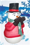 Combo #2 Amazing Snowman Snowfall Machine Includes Solution for 10 to 15 hour run time