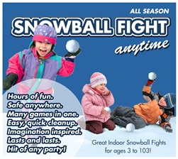 Soft Snowballs for a great Snowball Fight in Large Box of 48 Snowballs