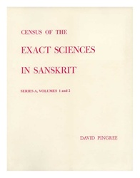 Census of the Exact Sciences in Sanskrit