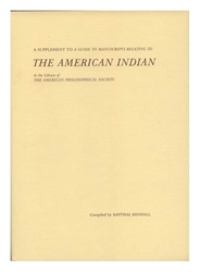 American Indian in the Library of the American Philosophical Society