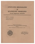 Annotated Bibliography of Quaternary Shorelines: Second Supplement 1970-1973: Special Publication 11 of the Academy of Natural Sciences of Philadelphia