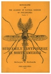 Adults of the Subfamily Tanypodinae (-Pelopinae) in North America (Diptera: Chironomidae): Monographs of The Academy of Natural Sciences of Philadelphia, No. 17