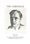 American Swedish Historical Foundation: The Chronicle, Summer 1955