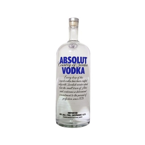 Absolut 4.5 liter big bottle