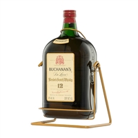 Buchanans Whiskey 4.5 liter big bottle with cradle