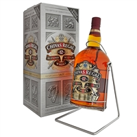 Chivas Regal 4.5 liter bottle with cradle