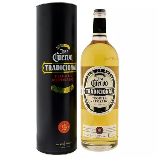 Tequila Jose Cuervo Tradicional Reposado 3 liter big bottle