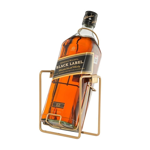 Johnnie Walker Black Label 3 liter with cradle