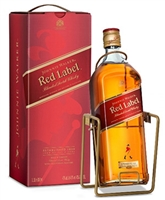 Johnnie Walker Red Label 3 liter with cradle