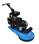 "Aztec 070-21-LRD The Low Rider Series 21"" Dust Control Propane Burnisher"
