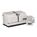 Champion 12.5 kW Home Standby Generator with 100-Amp NEMA 3R Outdoor Switch, Gull-Wing Design, Sound Dampening and Sub Zero/High Heat Start Up Model # 100179