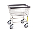 R&B Wire Standard Laundry Cart, # 100E