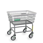 R&B Wire Antimicrobial Laundry Cart # 100E/ANTI