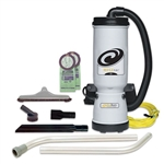 ProTeam MegaVac 10 qt. Backpack Vacuum w/Blower Tool & Hard Surface HorseHair Brush Tool Kit #105896