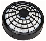 ProTeam 106526 HEPA dome filter with frame is designed to fit all 6QT/10QT Backpack model vacuums.