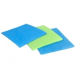 Casabella Sponge Cloth Blue, Green Assorted 3 pack