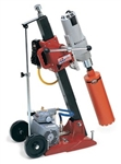 MK Diamond Manta III Combination Tilt Drill Stand with Milwaukee 4094 Motor # 158644
