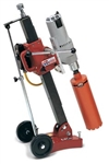 MK Diamond Manta III Anchor Tilt Drill Stand with Milwaukee 4094 Motor # 158652