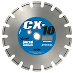 "MK Diamond CX-10 12"" x .100"" x 1"", Premium Grade for Cured Concrete # 159615"