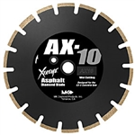 "MK Diamond AX-10 12"" x .125"" x 1"", Premium Grade for Asphalt # 159617"