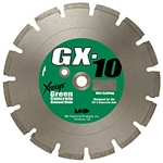 "MK Diamond GX-10 14"" x .110"" x 1"", Supreme Grade for Green Concrete # 159620"