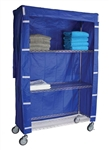 Linen Cart Nylon Cover 18x48x72, # 184872C