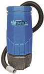 Sandia Super Raven 10-Quart 1340 watts 1.5  HP 1-Stage Motor Backpack Vacuum w/ 5 pc. Standard Tool Kit 20-1001