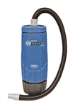 Sandia HEPA Raven 10-Quart Backpack Vacuum (Machine Only) - 1340 watts, 150 CFM, 1.5 HP, 1- Stage Motor , 20-3000