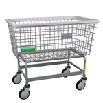 R&B Wire Antimicrobial Mega Capacity Laundry Cart (Big Dog) # 201H/ANTI