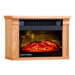 Heat Surge Mini Glo Efficiency Plus Touch W/Remote Golden Oak #30000931