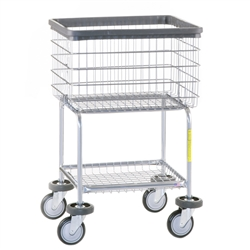 Deluxe Elevated Laundry Cart, # 300G