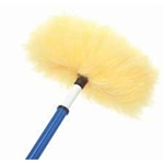 "Lambskin Dust Wand Wall & Ceiling Duster - 12"" x 6"", 322WC"
