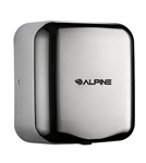 Alpine 400-10-CHR 110V Hemlock High Speed 10 second Automatic Sensor Commercial Hand Dryer, Surface Mount-Chrome