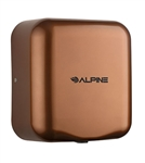 Alpine 400-10-COP 110V Hemlock High Speed 10 second Automatic Sensor Commercial Hand Dryer, Surface Mount-Copper