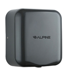 Alpine 400-10-GRY 110V Hemlock High Speed 10 second Automatic Sensor Commercial Hand Dryer, Surface Mount-Gray