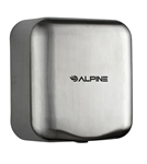 Alpine 400-20-SSB 220V Hemlock High Speed 10 second Automatic Sensor Commercial Hand Dryer, Surface Mount
