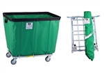 "R&B Wire   8 Bushel ""UPS/FEDEX-ABLE"" Truck  (specify color & caster pattern)"