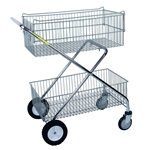 R&B Wire Deluxe Utility Cart, # 500