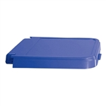 ABS Crack Resistant Replacement Lid, Blue, # 602B