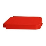 ABS Crack Resistant  Replacement Lid, Red, # 602R