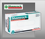 Shamrock 61000 Series Industrial Latex Disposable Gloves, Powdered, Smooth, Medium (10 boxes of 100)