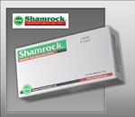 Shamrock 63000 Series Industrial Vinyl Disposable Gloves, Clear, Powdered, Medium (10 boxes of 100)