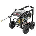 SIMPSON SuperPro Roll-Cage 3600 PSI at 2.5 GPM HONDA GX200 with AAA Triplex Plunger Pump Cold Water Professional Gas Pressure Washer, Model # SW3625HADS