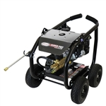 SIMPSON SuperPro Roll-Cage 3600 PSI at 2.5 GPM KOHLER CH270 with AAA Triplex Plunger Pump Cold Water Professional Gas Pressure Washer, Model # SW3625KADS