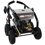 SIMPSON SuperPro Roll-Cage 3600 PSI at 2.5 GPM SIMPSON GB210 AAA Triplex Plunger Pump Cold Water Professional Gas Pressure Washer, Model # SW3625SADS